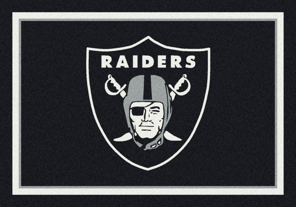 Oakland Raiders Rug Team Spirit
