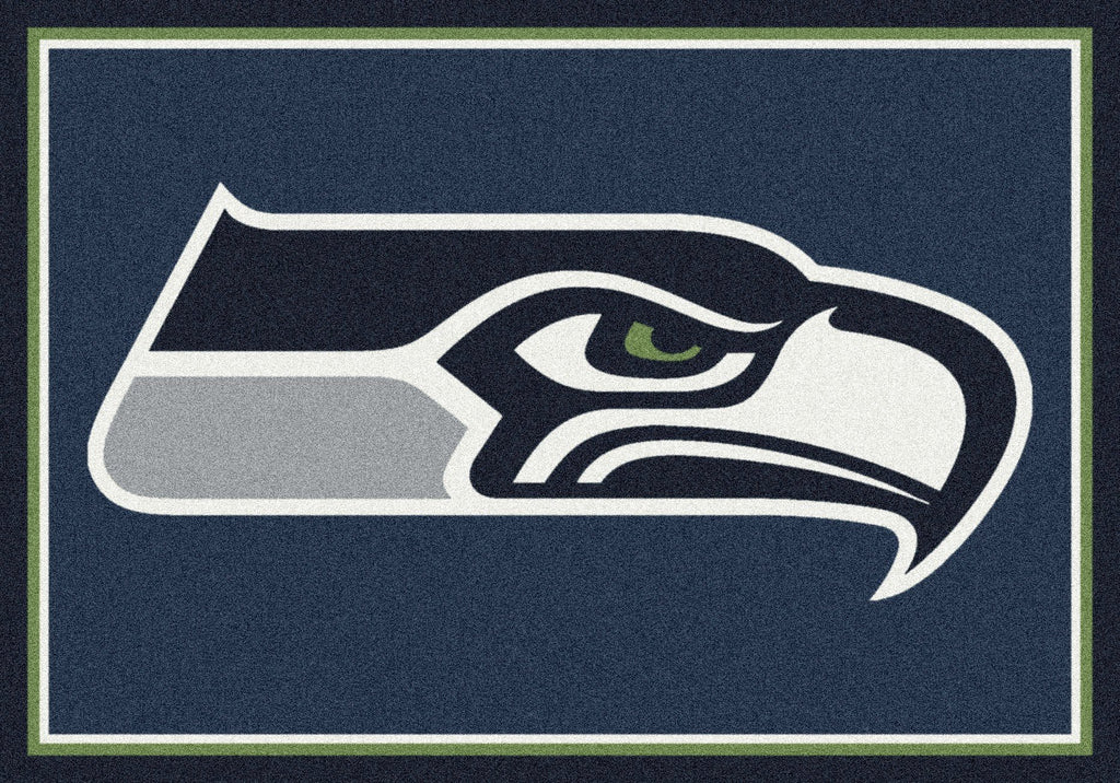Seattle Seahawks Rug Team Spirit