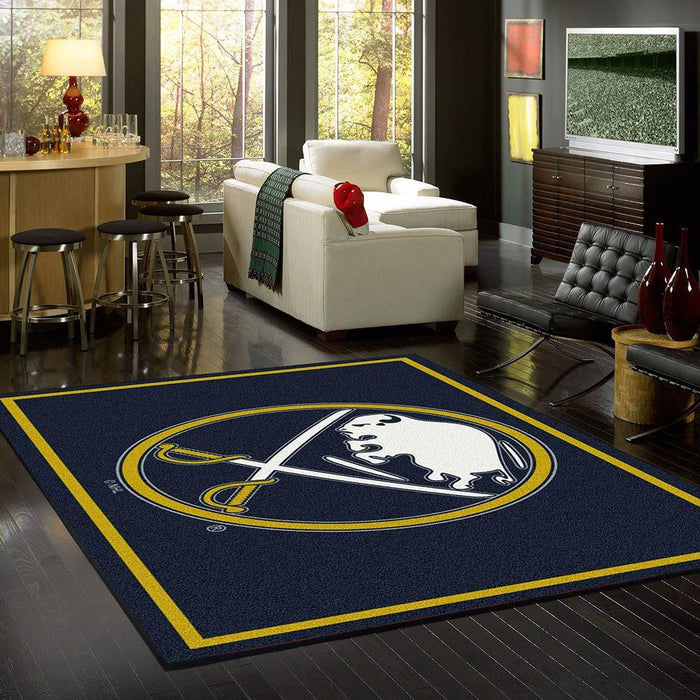 Fan Cave Rugs:Buffalo Sabres Rug Team Spirit
