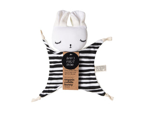 Wee Gallery Stripes Cuddle Bunny available at 2 Little Rascals NZ