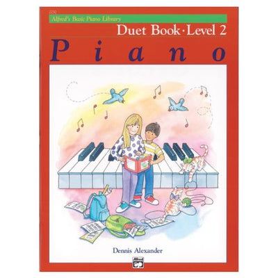 Alfred's Basic Piano Duet Book Level 2