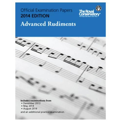 2014 RCM Advanced Rudiments Test Papers
