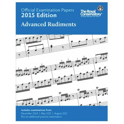 2015 RCM Advanced Rudiments Exam Papers