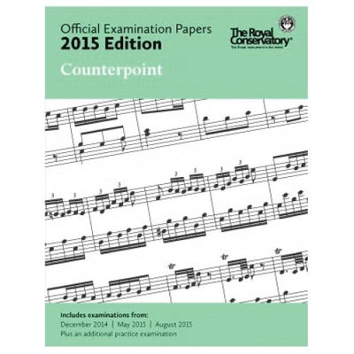 2015 RCM Counterpoint Exam Papers
