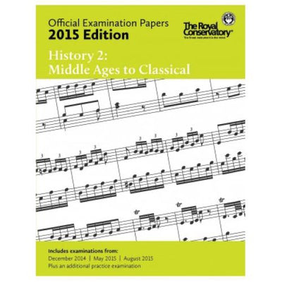 2015 RCM History 2 Exam Papers