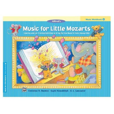 Music For Little Mozarts Workbook 3