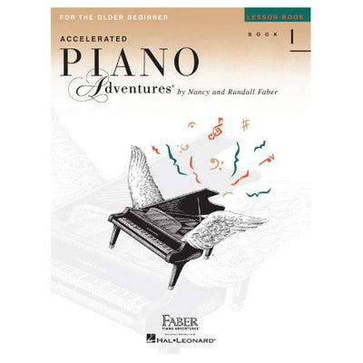 Piano Adventures For The Older Beginner Lesson Book 1