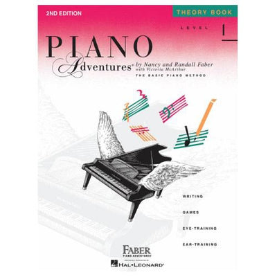 Piano Adventures Theory Book Level 1