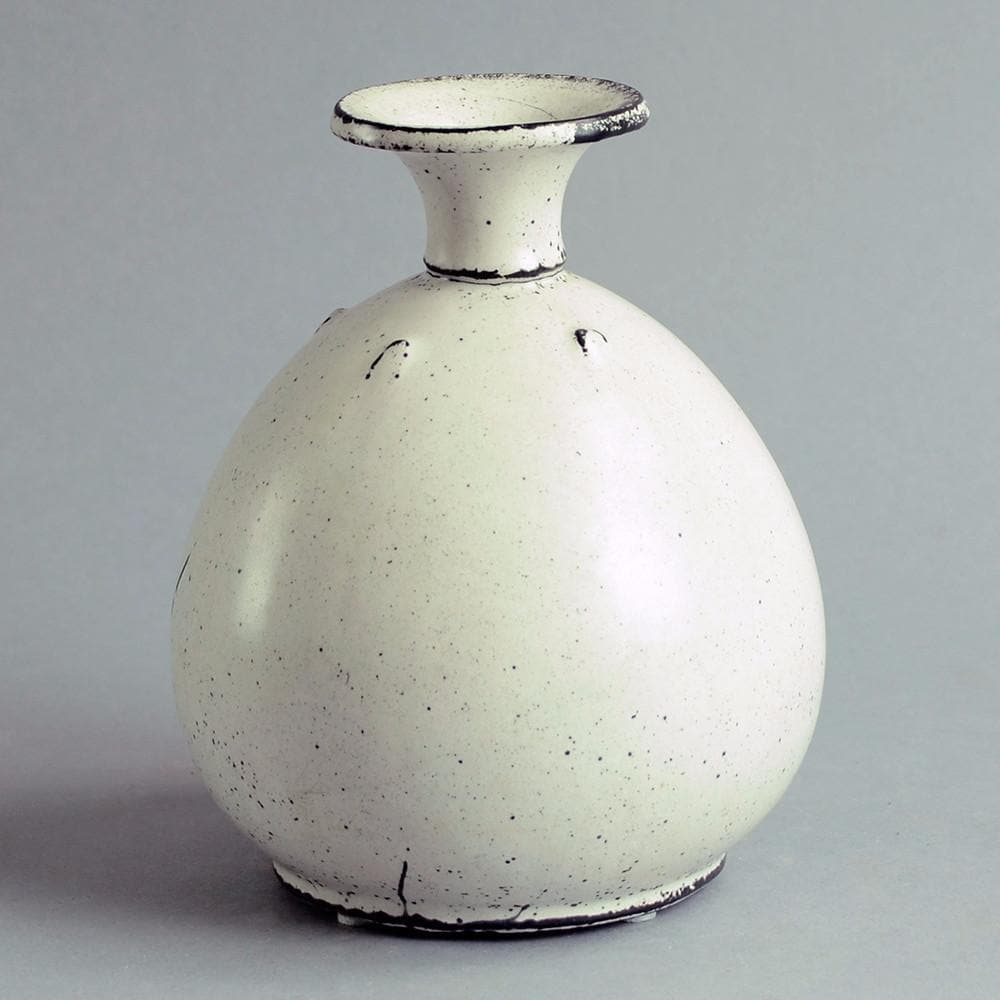 Vase by Svend Hammershoj for Herman A. Kähler Keramik