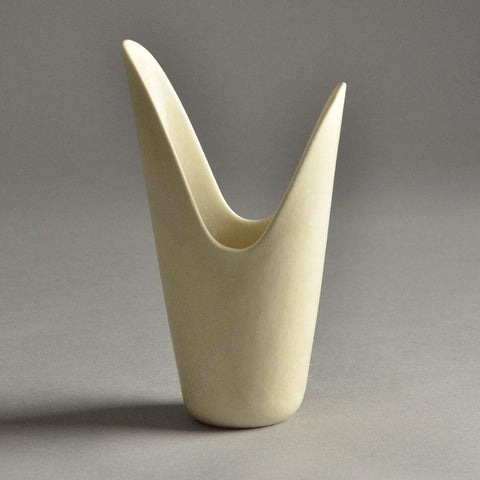 Gunnar Nylund for Rorstrand vase with white glaze for sale