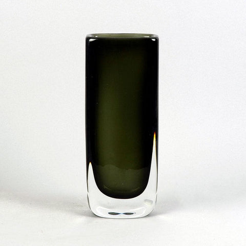 Sommerso vase by Nils Landberg for Orrefors