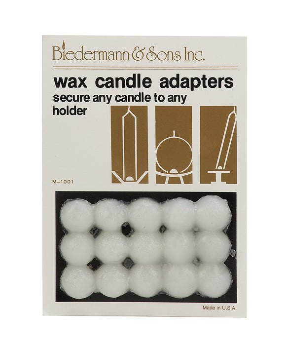 Wax Candle Adapters – 15 pk