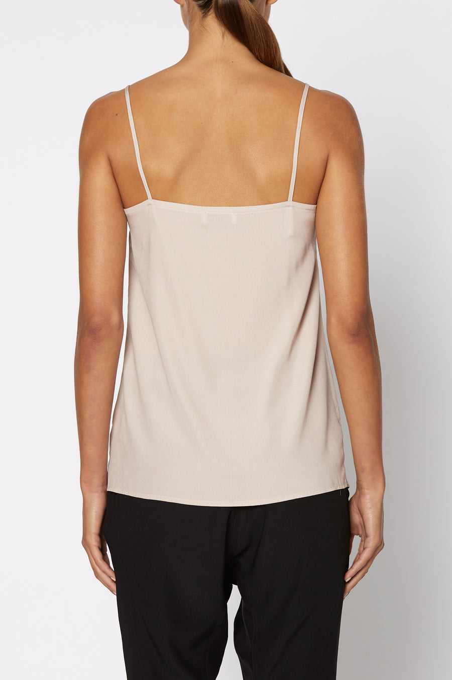 SHOESTRING CAMISOLE, PALE PINK color