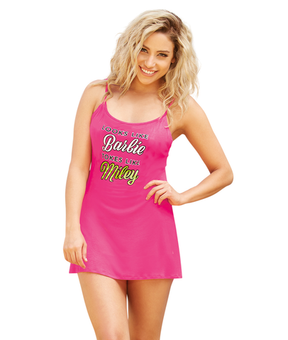 """Tokes Like"" Tie-Back Chemise"