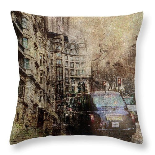 Rainy Day - Throw Pillow