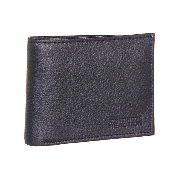 Kenneth Cole Reaction Dark Brown Genuine Leather Passcase Wallet