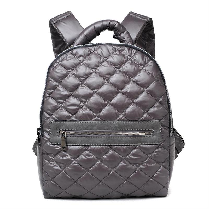 "SOL AND SELENE ""ALL STAR"" Charcoal Backpack"