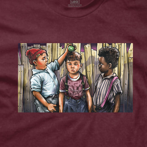 DGK Ghetto Rascal T-Shirt Burgundy
