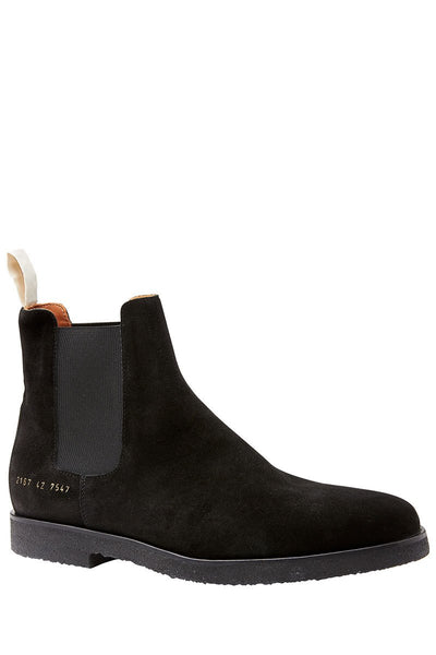 Common Projects, Suede Chelsea Boots