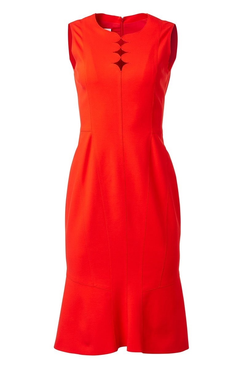 Akris Punto, Memphis Scallop Dress