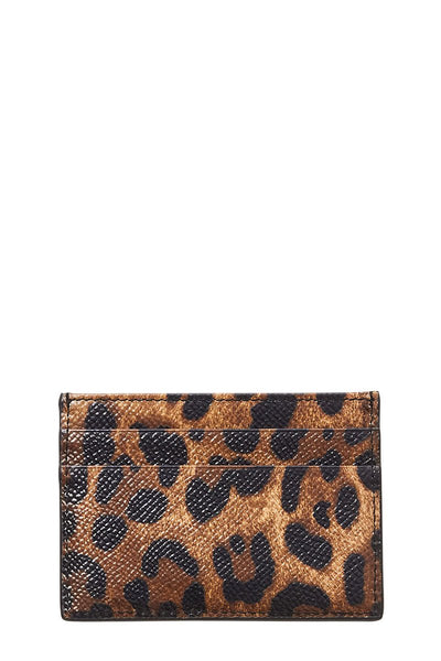 Dolce & Gabbana, Leopard Card Holder