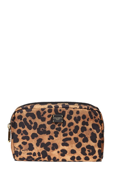 Dolce & Gabbana, Leopard Make-Up Bag