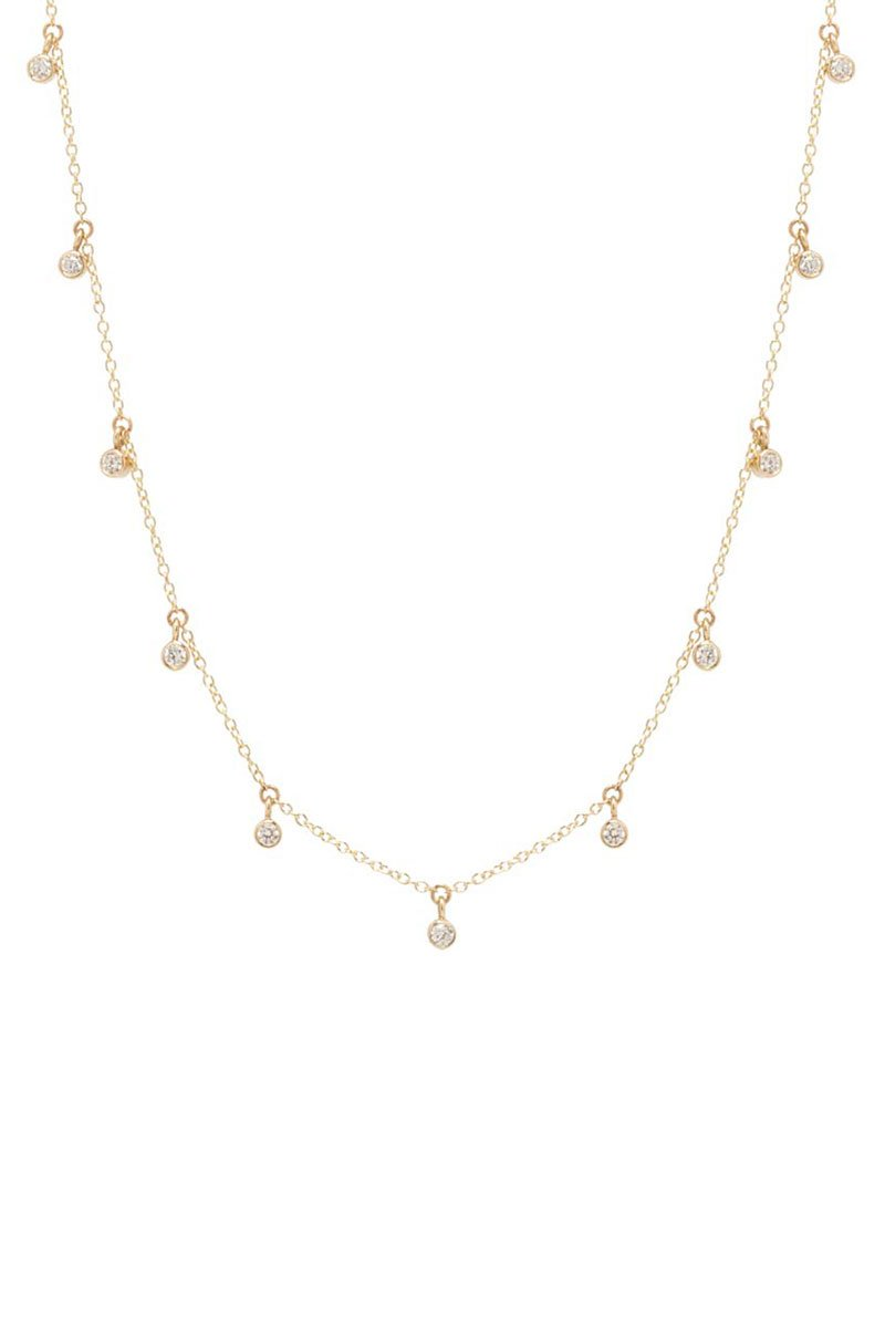 Zoë Chicco, Scattered Diamond Necklace
