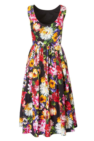 Dolce & Gabbana, Floral Flare Dress