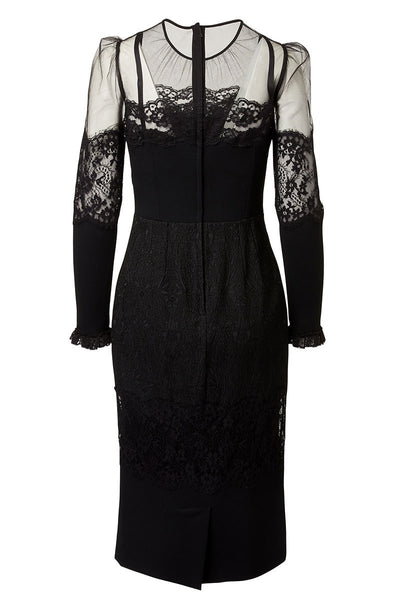 Dolce & Gabbana, Lace Brocade Cady Dress