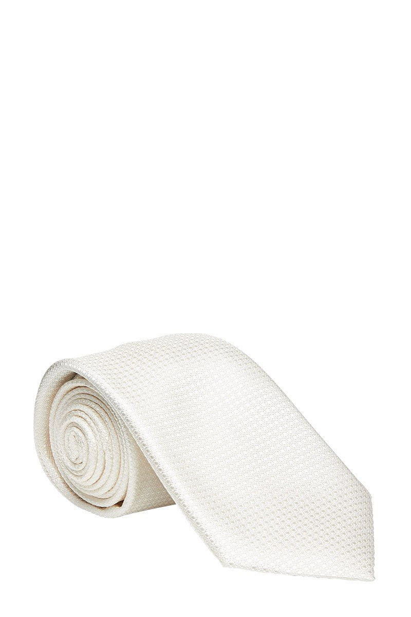 Canali, Textured Ivory Tie