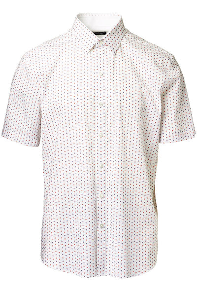 Zachary Prell, Dees Stretch Print Shirt