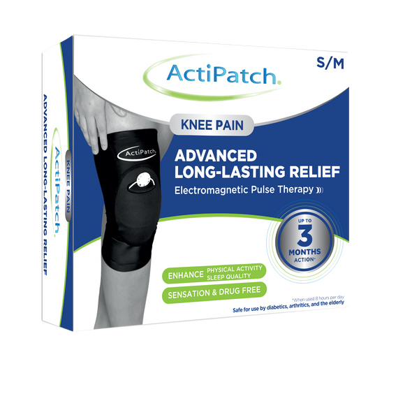 ActiPatch® Advanced 24 Hour Pain Relief - 720 Hours- with Knee Sleeve