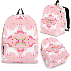Unicorn Mirror Magic Designer Backpack