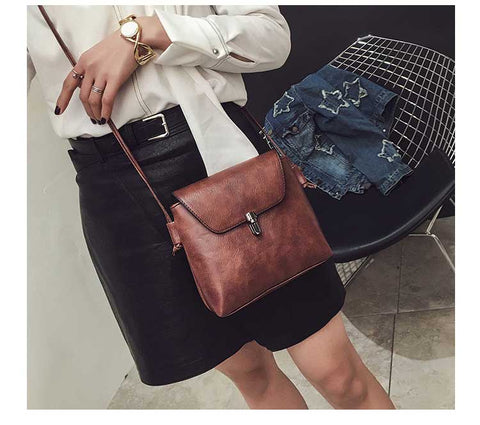 FREE Women Shoulder Crossbody Flap Handbag