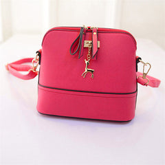 Women Leather Fashion Shoulder Bag - Free Plus Shipping Promotion