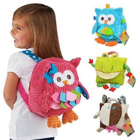 Kid's Cartoon Soft Animal Backpacks