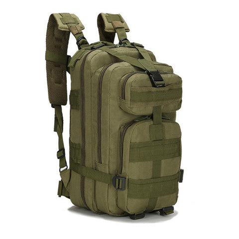 Green Camouflage Waterproof Oxford Military Backpack