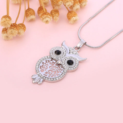 FREE Chic Vintage Owl Tree Of Life Pendant Necklaces