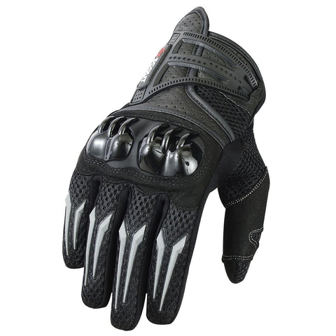 New Motorbike Gloves Leather MX Motorcycle Riding Knuckles Shell Protection - Scout Performance Gear