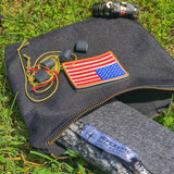 Scout Pouch Canvas - Zippered Durable Water Resistant Pouch