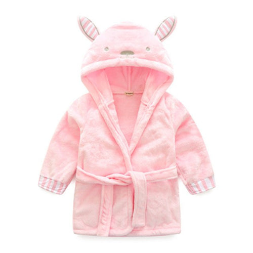 Soft Bunny | Cute Baby Bathrobe