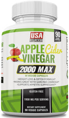 Apple Cider Vinegar Pills for Weight Loss From U.S.A. SUPPLEMENTS