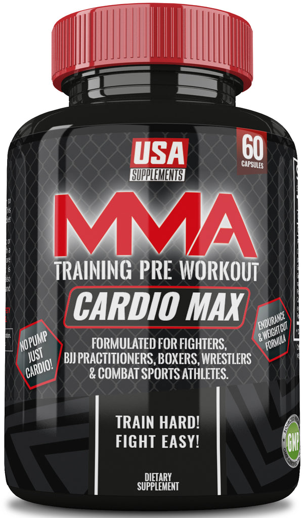 Cardio Max MMA Training Pre-Workout From USA Supplements - U.S.A. SUPPLEMENTS