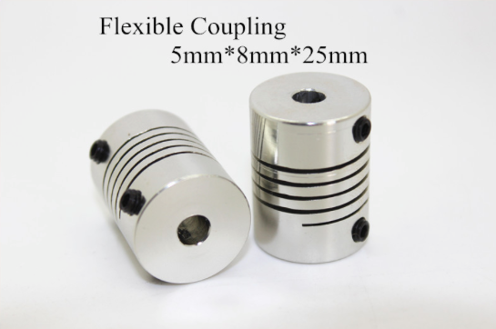 3D printer Flexible Helical Coupling Set of 2