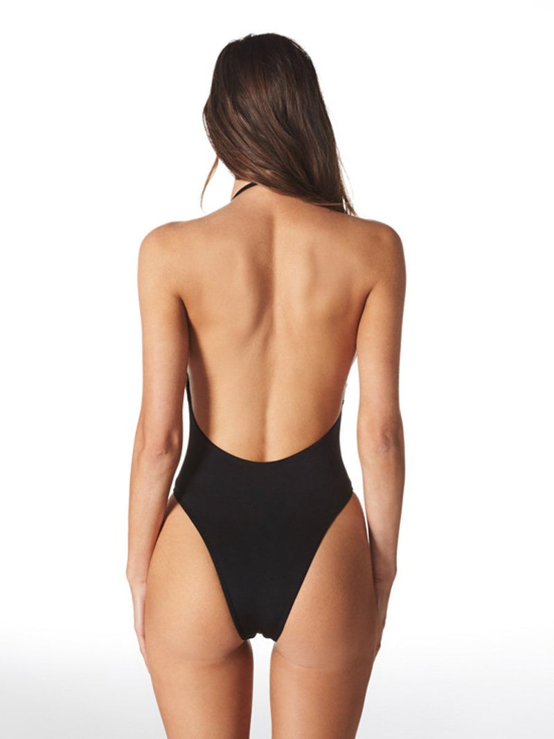 The Cindy black one piece swimwear by Swm by Lioness. Shop this classic white swimwear with Crispy Citron. Free shipping and easy returns