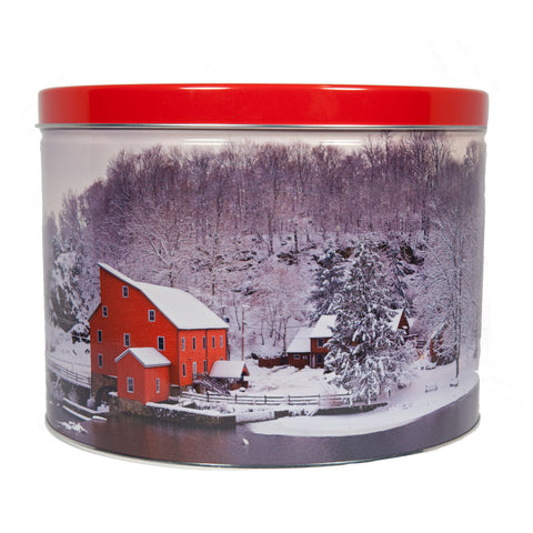 *Special Edition Red Mill Popcorn Tin - 2 Gallon