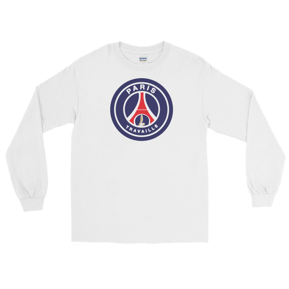 Paris PSG Long Sleeve T-Shirt - Trabajando Skate Apparel
