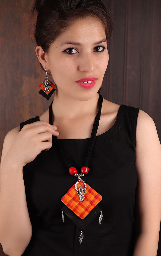 Ganesha Pendant  Necklace Set
