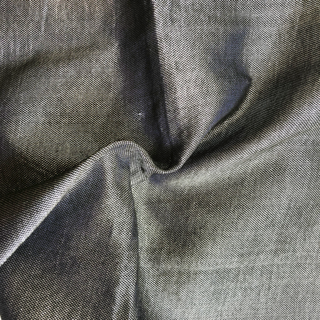 Gabrieli Silk Tallit- Gray with Black and Silver