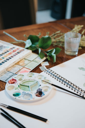 What you'll get from attending my watercolour workshop series